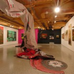 2004. Installation view at SAW Gallery, Group show: Oil Spill, New Painting in Ontario, 2007
