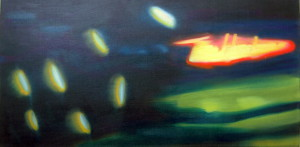 "Window Shopping: Tim Hortons. 2011, 15"" x 30"""