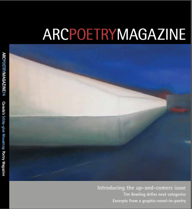 Arc Poetry Magazine Front Cover